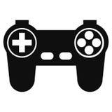 ícone do pictograma do controler do jogo Imagem de Stock Royalty Free