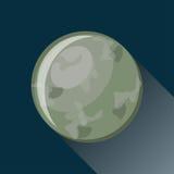 Ícone do planeta de Mercury Foto de Stock Royalty Free