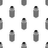 ícone do prédio de escritórios 3d Elemento do ícone da construção 3d para apps móveis do conceito e da Web Prédio de escritórios  Imagens de Stock