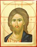 Ícone do senhor Jesus Cristo fotografia de stock royalty free
