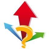 Ícone do sinal da pergunta Foto de Stock Royalty Free