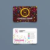 Ícone do sinal do casino Símbolo do cartão de jogo Fotos de Stock Royalty Free