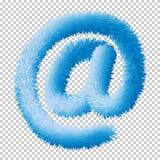Ícone do sinal do email elementos Eps10 da Web do vetor ilustração royalty free