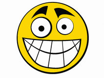 Ícone do smiley Imagem de Stock Royalty Free