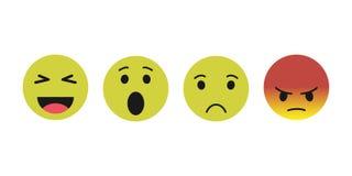 Ícone do sorriso estilo moderno dos ícones do vetor EPS10 ilustração royalty free