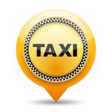 Ícone do táxi ilustração royalty free
