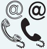 Ícone do telefone ilustração royalty free