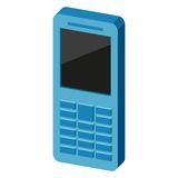 Ícone do telefone Ilustração do vetor Imagens de Stock