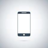 Ícone do telefone, ilustração do vetor ilustração stock