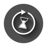 Ícone do tempo ilustração stock