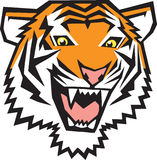 Ícone do tigre Fotografia de Stock