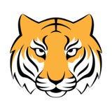 Ícone do tigre Ilustração para o projeto do logotipo, cópia do vetor do t-shirt Fotografia de Stock