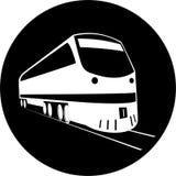 Ícone do trem do vetor Imagem de Stock Royalty Free