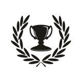 Ícone do troféu Foto de Stock