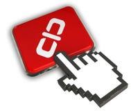 Ícone do URL Imagem de Stock Royalty Free