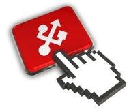 Ícone do Usb Imagem de Stock