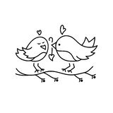 Ícone do Valentim do St Imagem de Stock Royalty Free