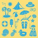 Ícone do verão ilustração stock