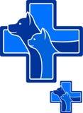 Ícone do veterinário do vetor ilustração stock