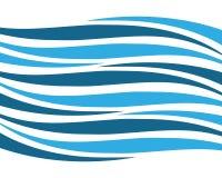 Ícone do vetor de onda da água ilustração royalty free