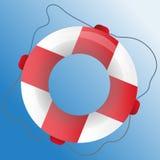 Ícone do vetor do anel da segurança Imagem de Stock