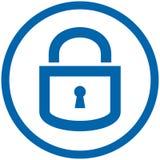 Ícone do vetor do cadeado Imagens de Stock