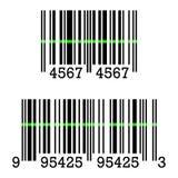 Ícone do vetor do sinal do código de barras Ilustração do Vetor