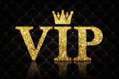 Ícone do VIP do vetor Fotografia de Stock