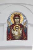 Ícone do Virgin abençoado Sochi Foto de Stock Royalty Free