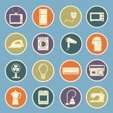 Ícone dos aparelhos eletrodomésticos Fotografia de Stock