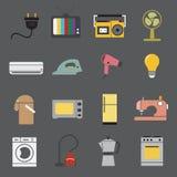 Ícone dos aparelhos eletrodomésticos Fotos de Stock Royalty Free