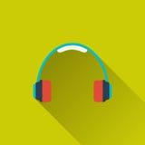 Ícone dos auriculares Fotos de Stock Royalty Free