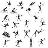 Ícone dos esportes ilustração stock