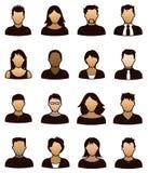 Ícone dos povos Fotos de Stock