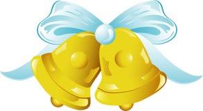 Ícone dos sinos de casamento ilustração royalty free
