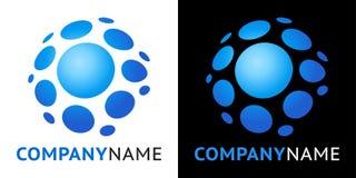 Ícone e projeto plásticos do logotipo Foto de Stock