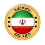 Ícone feito em Irã ilustração royalty free
