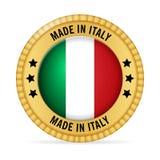 Ícone feito em Itália ilustração royalty free