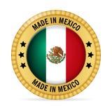 Ícone feito em México ilustração stock