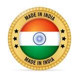 Ícone feito na Índia ilustração do vetor