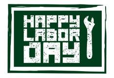 Ícone feliz do Dia do Trabalhador Dia Labour internacional Ilustração do vetor ilustração royalty free