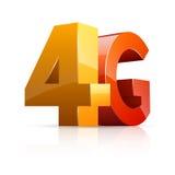ícone 4G Fotografia de Stock Royalty Free
