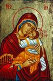 Ícone grego imagens de stock royalty free