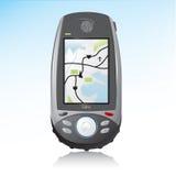 Ícone Handheld do dispositivo do GPS ilustração stock