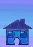 Ícone Home Fotografia de Stock Royalty Free