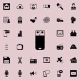 Ícone instantâneo da movimentação Grupo detalhado de ícones minimalistic Projeto gráfico superior Um dos ícones da coleção para W ilustração stock