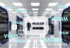 Ícone, Internet, fornecedor Fotografia de Stock