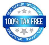 Ícone isento de impostos Imagens de Stock Royalty Free