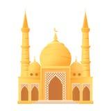 Ícone isolado do kareem da ramadã mesquita bonita Fotos de Stock Royalty Free