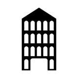 ícone italiano da construção ilustração royalty free